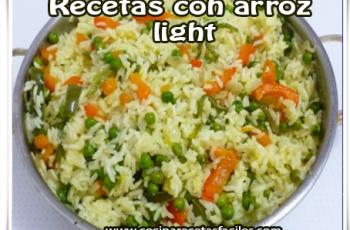 Arroz integral light - Recetas de arroz fáciles de preparar