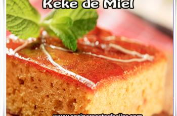 Keke de miel - Recetas fáciles de tortas y pasteles