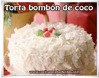 Receta de torta bombón de coco✅Les recomiendo éste Torta Bombón de Coco combinado con el chocolate blanco la convierten en un tentación muy agradable.