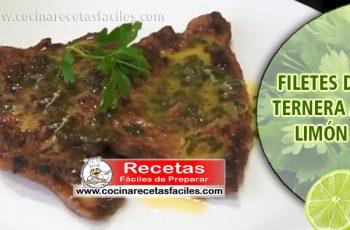 Filetes de ternera al limón - Recetas caseras de carne