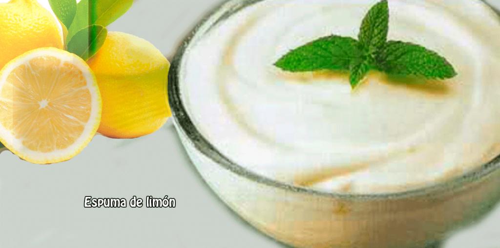 Espuma de lim n cocina recetas f ciles - Espuma de limon ...