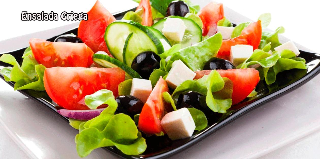 Ensalada griega cocina recetas f ciles - Ensaladas gourmet faciles ...