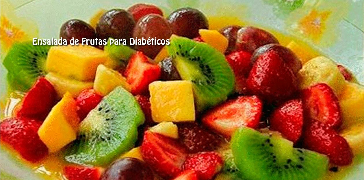 Ensalada de Frutas para Diabéticos - Cocina Recetas Fáciles