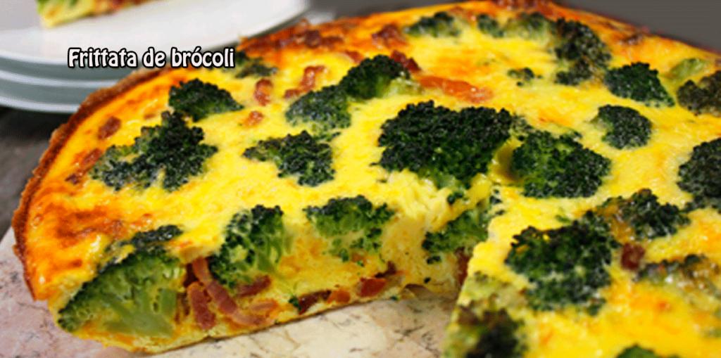 Frittata De Brócoli Cocina Recetas Fáciles