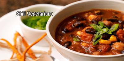 Receta de Chili Vegetariano✅Una receta rápida, deliciosa y saludable muy fácil de preparar, estamos seguros que et encantará.