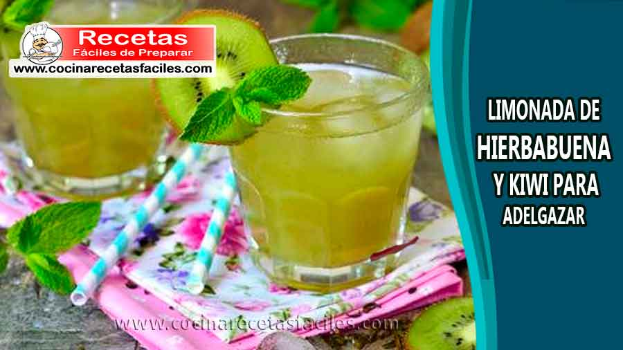 Hierbabuena y limon para adelgazar