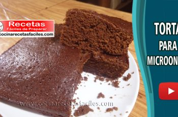 Torta para microondas - Vídeo recetas de tortas y pasteles