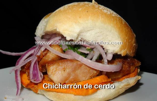 Receta Chicharrón de cerdo, delicioso manjar peruano se suele comer en el desayuno.