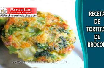 Receta de Tortitas de brócoli