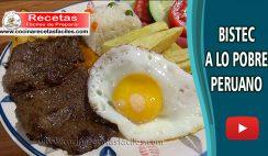 ▷ Bistec a lo Pobre Peruano - Vídeo recetas de carnes