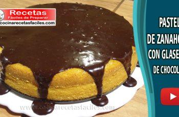 Pastel de zanahoria con glaseado de chocolate - Vìdeo recetas