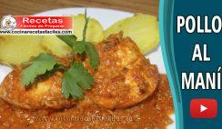 Pollo al maní casero - Vídeo recetas de pollo fàciles de preparar