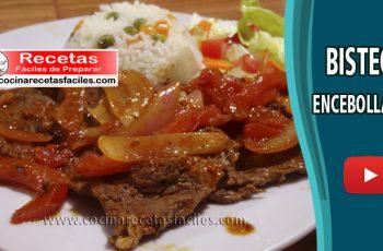 Bistec Encebollado - Vídeo recetas caseras de carnes