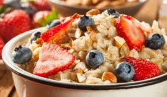 Papilla de avena el mejor desayuno para adelgazar