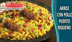 Arroz con Pollo Puertoriqueño - Recetas caseras de pollo