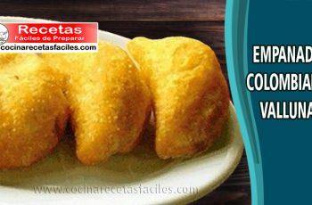 Empanadas colombianas vallunas - Recetas de empanadas