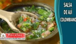 Salsa de ají colombiano - Recetas de salsas y cremas