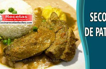 Seco de pato norteño - Recetas de comida peruana