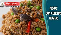 Arroz con conchas negras - Recetas de pescados y mariscos