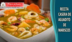 Aguadito de mariscos peruano - Receta de pescados y marisco