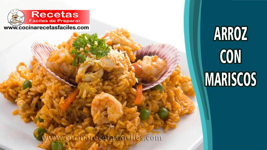 arroz con mariscos - Recetas de pescados y mariscos