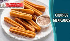Churros mexicanos - Recetas de postres y helados
