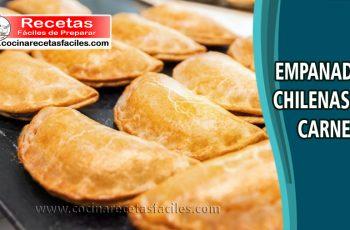 Receta de empanadas chilenas de carne 🥟🥟