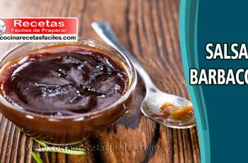 Salsa barbacoa casera - Recetas de salsas y ajíes