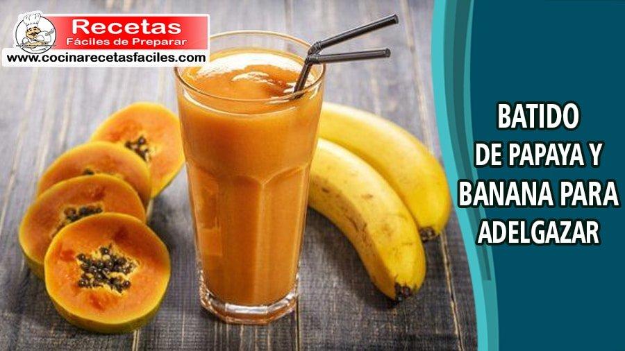 Hojas de papaya para perder peso